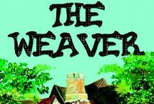 The Weaver / In a town of word weavers, Mary suffers through her third year of Novice Word Weaving. Mary thinks her troubles are over when she meets a gnome-elf who grants her a wish.  But instead of weaving a better story, she's weaving strange yarn charms to accompany her still pathetic tales. Written for children 9 - 12 years old.