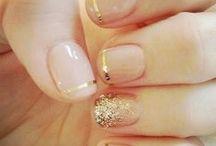 Fingertips / nail polish and nail art