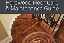 Floor Care Tips / As the seasons change so does your hardwood floor. This is a collection of tips from industry experts that help you to maintain your flooring for a lifetime.