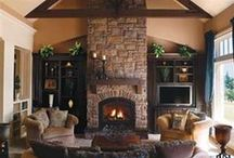 Fireplace Ideas / by Brittany G.