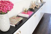 shelves, storage, credenzas