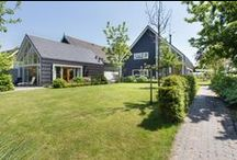 Eigentijdse woning Oud-Alblas / Woning in Oud-Alblas. In een schuurachtige vorm. www.bongersarchitects.nl