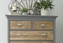 Flipping Furniture / Purchase second hand furniture and give it a paint makeover. This is the prefect way to decorate your home with unique pieces of furniture.