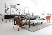 home // living / future mid-century boho home