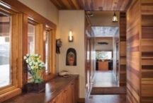 Mountain Home Interiors / Interiors of mountain homes and others