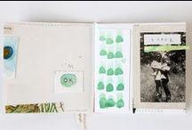 design // journals + sketchbooks