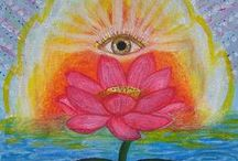 Visionary Art - Inspirational Art / Art that celebrates life, joy, beauty, and spirit....original paintings by Robin Phillips and other visionary artists from around the world