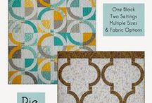 Modern Quilt Relish Patterns and Books / Patterns with a taste of the unexpected!