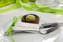 Easter Tablescape / by Wanda Miller
