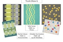 Trunk Shows from Modern Quilt Relish / by Modern Quilt Relish