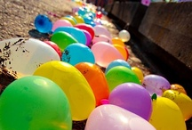 balloons / They broke loose and away they flew, free to float and free to fly and free to pop where they wanted to / by Lidija