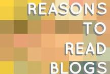 Blog Lovin' / Blogs I follow that make idle browse-time more worthwhile
