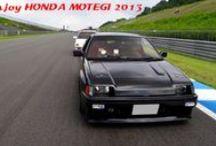 HONDA 50周年の歴史パレード / Enjoy Honda MOTEGI 2013