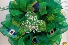 St. Patrick's Day Wreath / by Wanda Miller