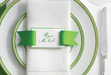 St. Patrick's Day Tablescape / by Wanda Miller
