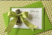 St. Patrick's Day Cards / Tags / by Wanda Miller