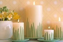 Easter Candles / by Wanda Miller
