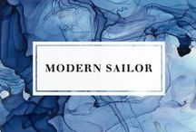 Modern Sailor / Inspirational Board Modern Navy Mood