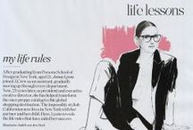 Jenna Lyons / Director of J.Crew. Fashionista. Mum. Workaholic. Makes nerdy glasses look sexy. Role model material.