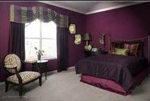 Bedroom / Bedroom decor color schemes / by Sarah Vest Donley