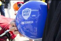 Nationale Sportweek / Van zaterdag 18 tot en met 25 april 2015 vond voor de twaalfde keer de Nationale Sportweek plaats. Binnen deze week vonden door het hele land en zeker ook in Zoetermeer bijzondere, leuke, spectaculaire en vooral actieve sportpromotieactiviteiten en -evenementen plaats.bekijk de foto's voor een sfeerimpressie. Meer info is te vinden op  www.zoetermeer.nl/sportweek