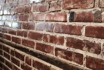 Brick Walls.....So Interesting!! / Love interior brick walls!!