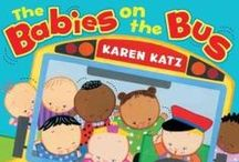 Great Books for Babies and Toddlers / Here are some great titles for you to read with your baby!