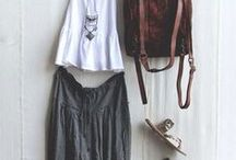 look book // travel style / comfortable outfits that pack light, dry quick, and can go from day/night or city/outdoors