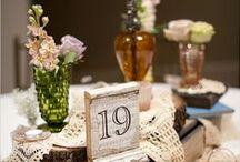 Table Numbers/Escort Cards / by Napa Valley Custom Events ~ Sharon Burns