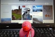 Ducky's journeys / by Lydia van der Kroon