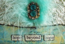 """all about Pretty! creations by Laura Youngren / I love creating art with a vintage/distressed look, a style I've named """"Gritty Pretty"""" art http://www.pinterest.com/LauraYoungren/ http://www.allaboutpretty.blogspot.ca/"""