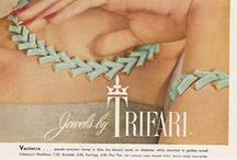 Vintage jewelry ads / This board is for jewelry ads (magazine, newspaper, catalog) only. Any other type of pin will be removed. If you would like to ad to this board please send me an email at maggiescorner@comcast.net