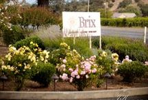 Brix Restaurant and Gardens / NVCE Events at Brix / by Napa Valley Custom Events ~ Sharon Burns