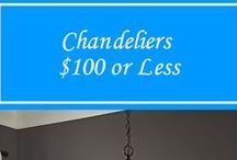$100 or Less Chandeliers / Every Chandelier is $100 or Less