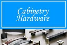 Cabinetry Hardware / Decorative Cabinetry hardware from fancy to casual. All available at Hermitage Lighting Gallery's Hardware Department