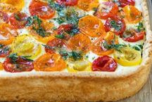 Pizza & Tarte / Here you find different pizza recipes.  Hier findet ihr leckere Pizza-Rezepte.