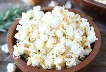 Popcorn / Delicous popcorn-recipes sweet & savory. Leckere Popcorn-Rezepte: süß & herzhaft.