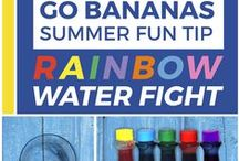 """""""Go Bananas"""" Summer Fun Tips! / Providing you and your family with whacky ideas that are sure to motivate the kids this summer! Let's get out and have lots-O-fun."""