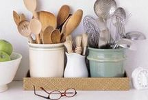 For the Home: Kitchen & Dining / Decorating and design ideas for your KITCHEN