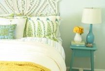 For the Home: Bedrooms / Decorating ideas for turning your BEDROOM into a cozy retreat