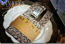 Wedding Menus / by invitesbyjen