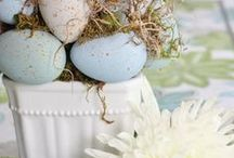 Easter:  Seasonal Scenes & Decor / Lovely, fresh, springtime, and the rolling away of the stone. / by Cynthia McClellan