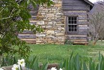 Cottages/Cabins/Tiny Houses ~ Livin' Small / Small and sweet... / by Cynthia McClellan