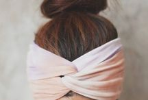 Scarves & Headbands. / by Nic Marie 🌻
