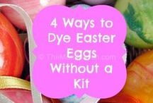 Easter Ideas / A collection of ideas for celebrating Easter