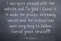 LiveCareer Reviews / At livecareer.com we strive to help our customers reach their career goals. Thanks to our customers for these glowing reviews. We're happy to help you! / by LiveCareer