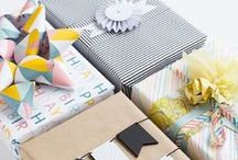 Gifts Ideas and gift wrapping