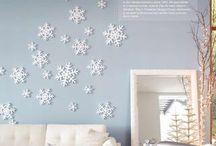Winter decor / by Morgan Ellington Kem