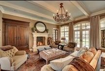 Brown, Tan, Beige Rooms and decorations  / Many rooms have additional colors added. Be sure to check my pins with Blue, Green, and Orange rooms! / by Carol Lilley