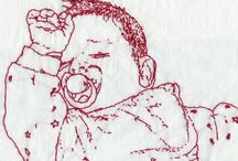 Embroidery Babies / by Kathy Eubanks Cathcart